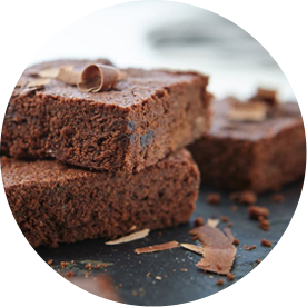 Double Chocolate Cherry Brownies